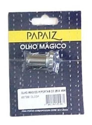 Olho mágico para porta de 25 a 42mm 180° oxidado