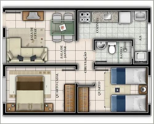 Projetos engenharia casa sobrado planta fachadas 3d