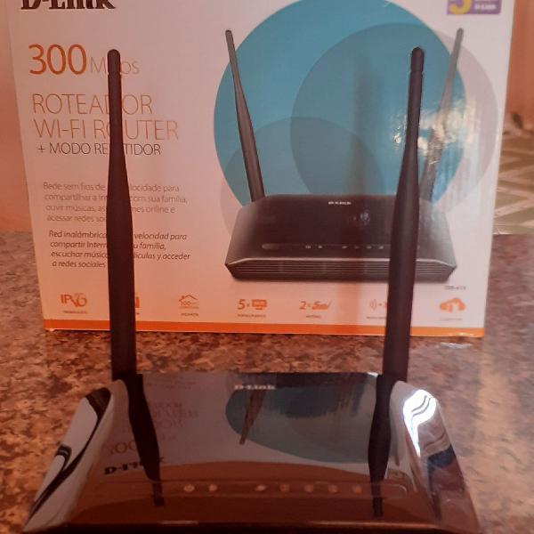 Roteador wireless d-link dir 615 - 300m