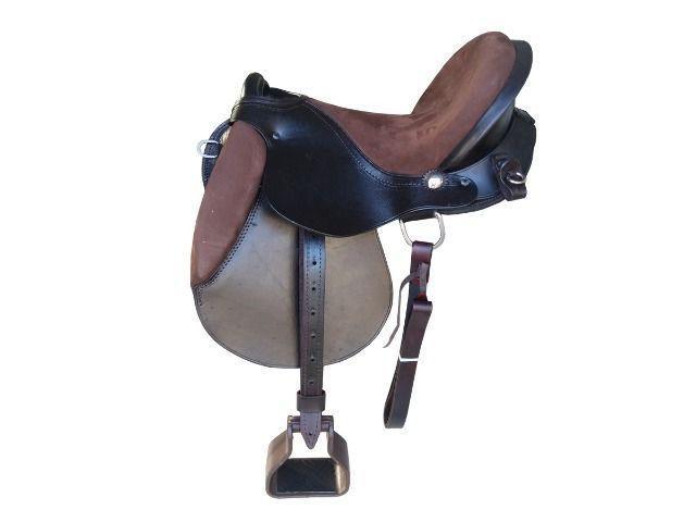 Sela de cavalo australiana coqueluche pista