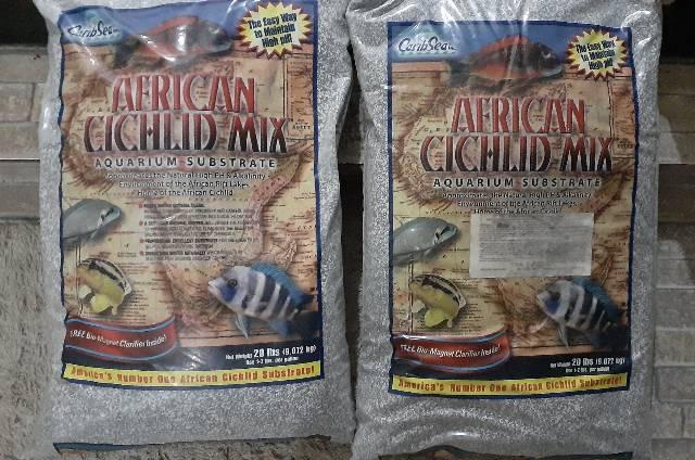 Substrato para ciclídeos africanos - novo