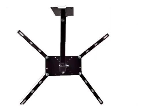 Suporte monitor e tv para teto/mesa articulado 18 a 55 pol