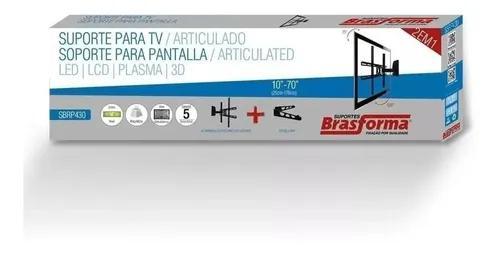 Suporte p/ tv lcd de 10 - 70'' articulado sbrp430 brasforma