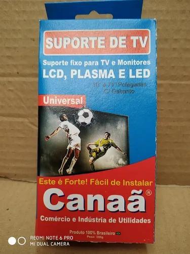 Suporte p/ tv universal fixo p/ 10 a 71 kit c/ 5 pçs.