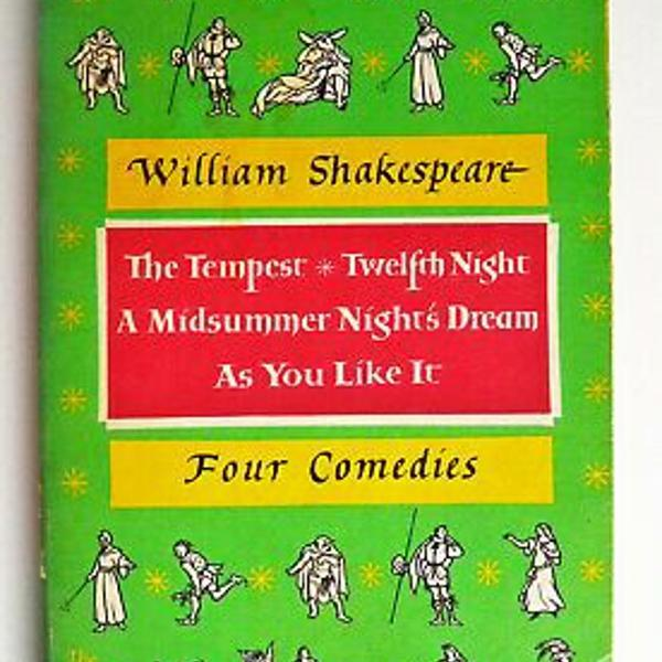 Four comedies - willian shakespeare