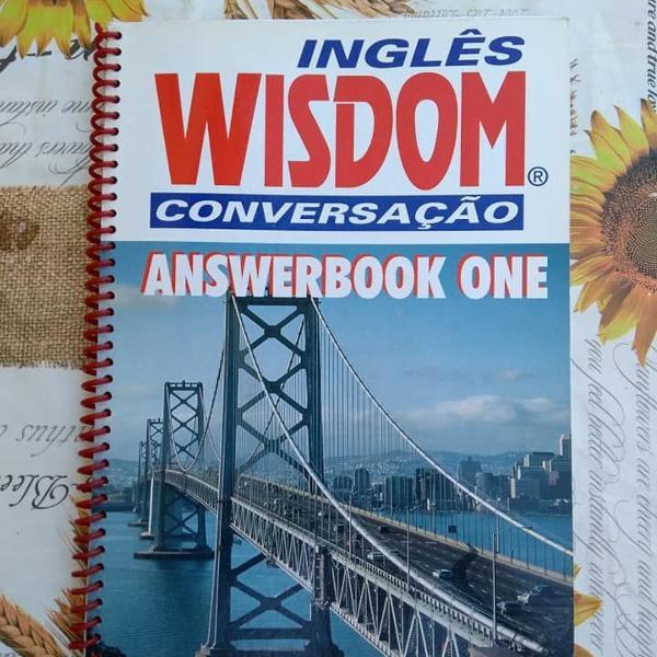 Inglês wisdom conversação answerbook one