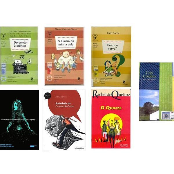 Kit com 7 livros educação infantil 8º ano