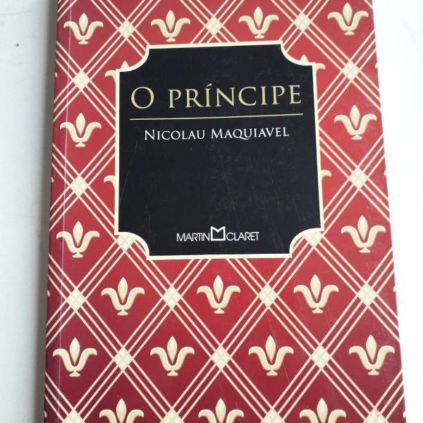 Livro o principe - nicolau maquiavel