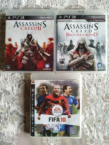 3 Jogos Originais do PS3! Zona Sul.