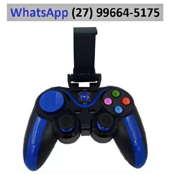 Controle sem fio joystick celular turbo wireless plug & play