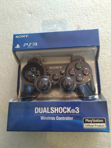 Controle do playstation 3 novo na caixa com garantia