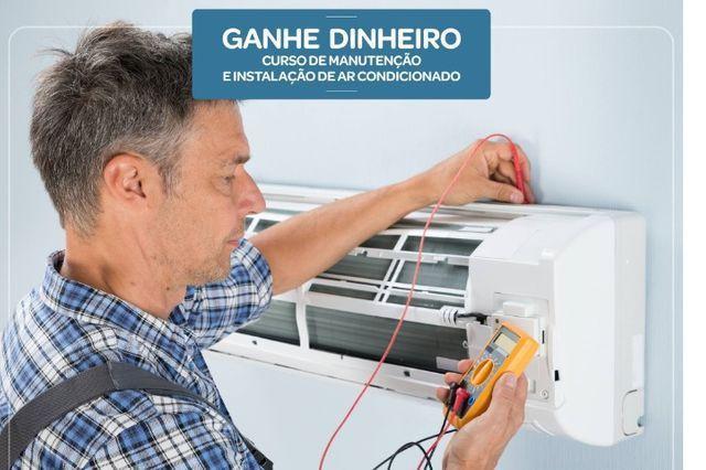 Curso manutenção em ar-condicionado split