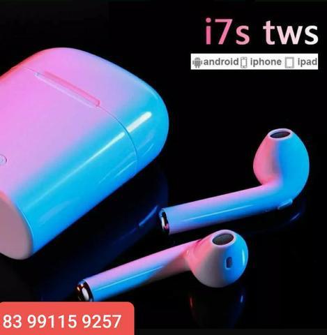 Fone de ouvidos i7s tws sem fios bluetooth earbuds