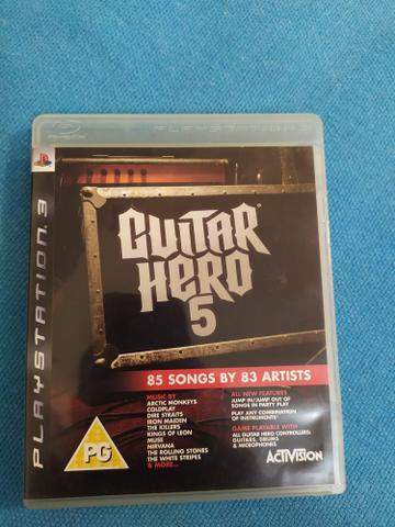 Jogo guitar hero 5 de ps3 estou em osasco bairro munhoz