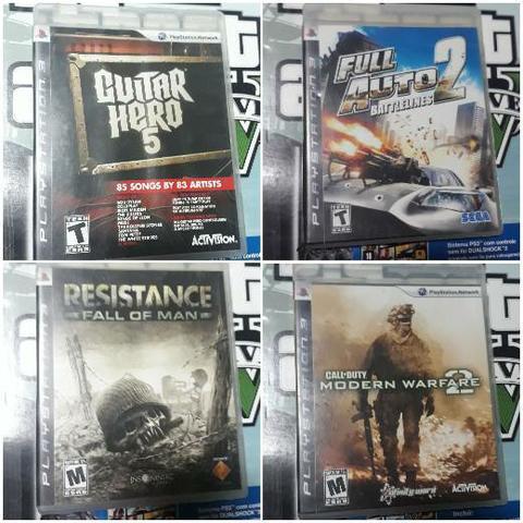 Jogos para playstation 3 (leia anúncio)