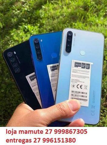 Lançamento redmi note 8 4/64gb 48mp global dual sim tela