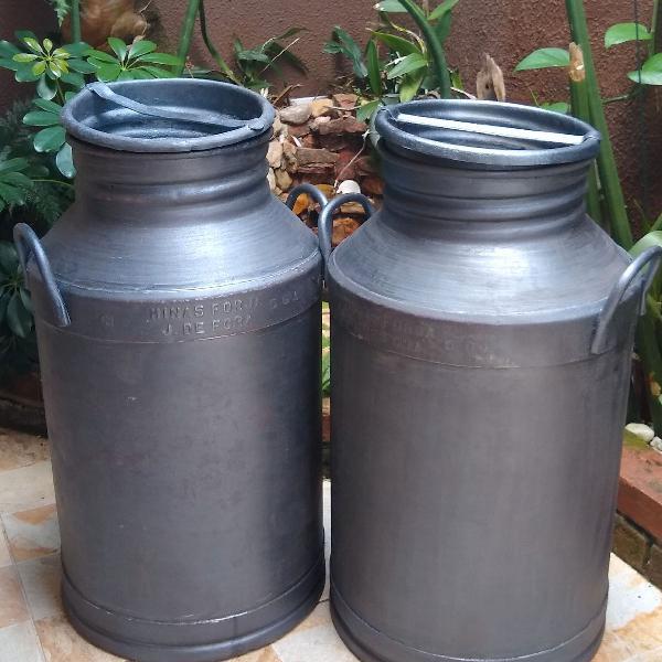 Latão de leite antigo 50 litros