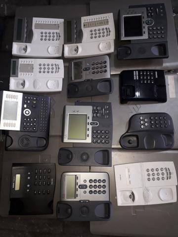 Lote de telefones voip e convencional barato