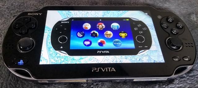 Playstation ps vita fat pch-1010 + 16gb + usb/carregador