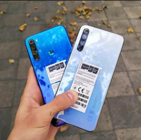 """Smartphone xiaomi redmi note 8 128gb 4gb ram tela 6.3"""" 48 mp"""