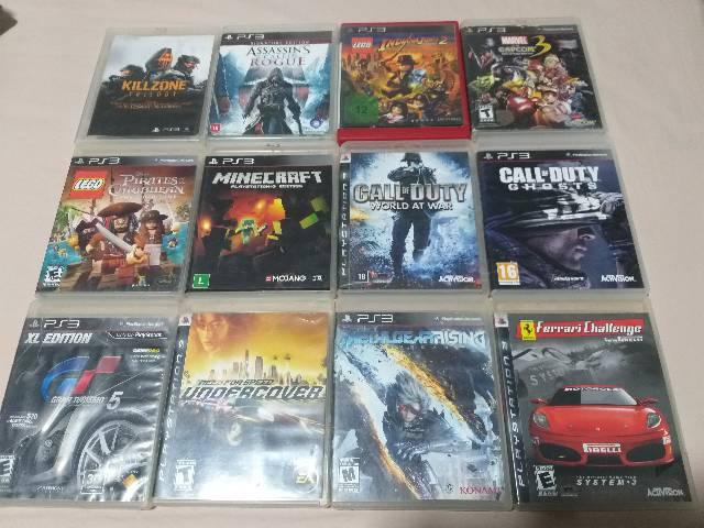 Vende se jogos originais para ps3
