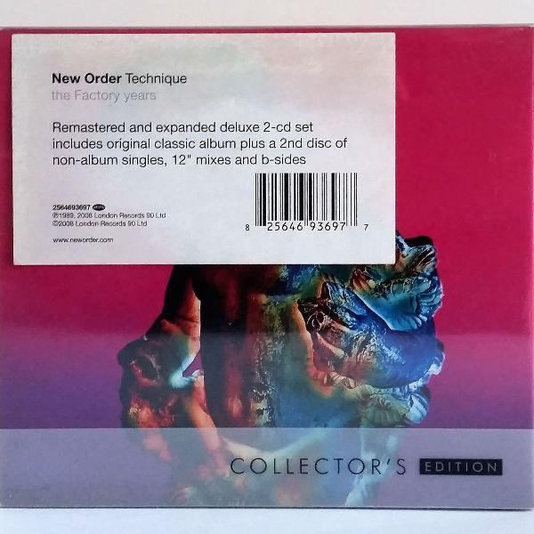 Cd new order technique collector's edition 2cds importado
