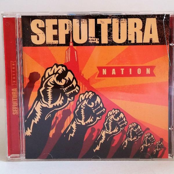 Cd sepultura nation + bonus tracks