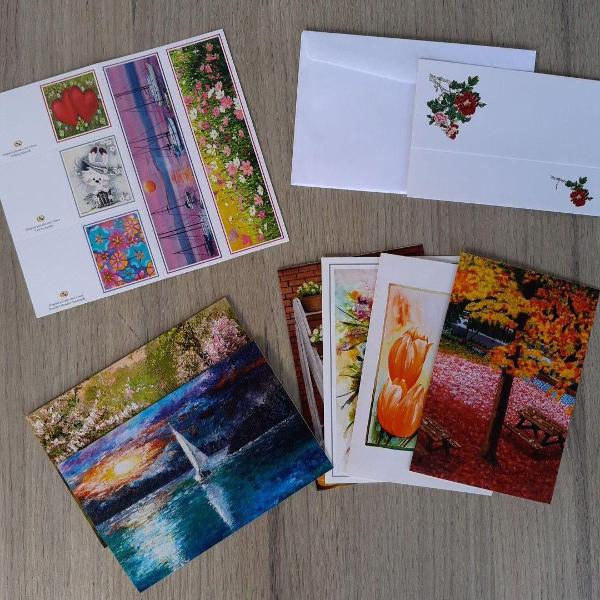Kit de cartões