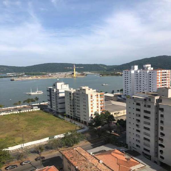 Apartamento de 3 dormitórios no porto da ponta, vista mar