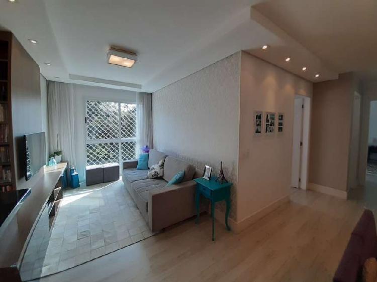 Apartamento em condomínio clube, 2 qtos, vista maravilhosa!