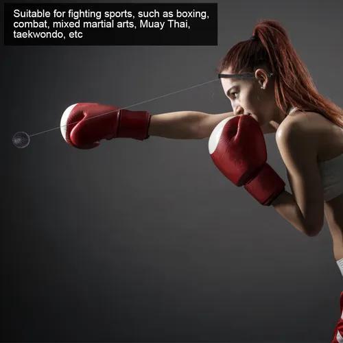 Bola adulto exercício soco boxe com equipamento da banda ca