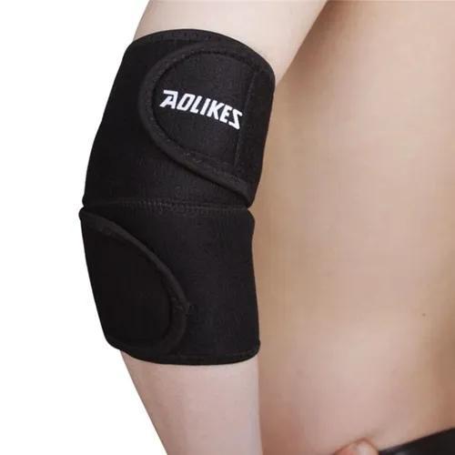 Curto braço manga esporte protetor basquete crashproof