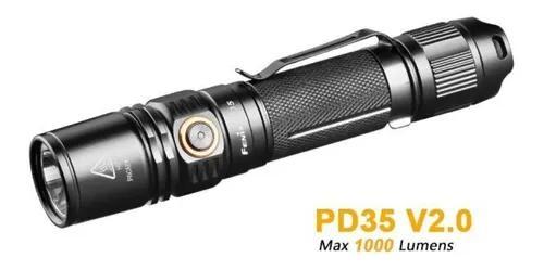 Fenix pd35 v2.0 - 1000 lúmens - lanterna - tática