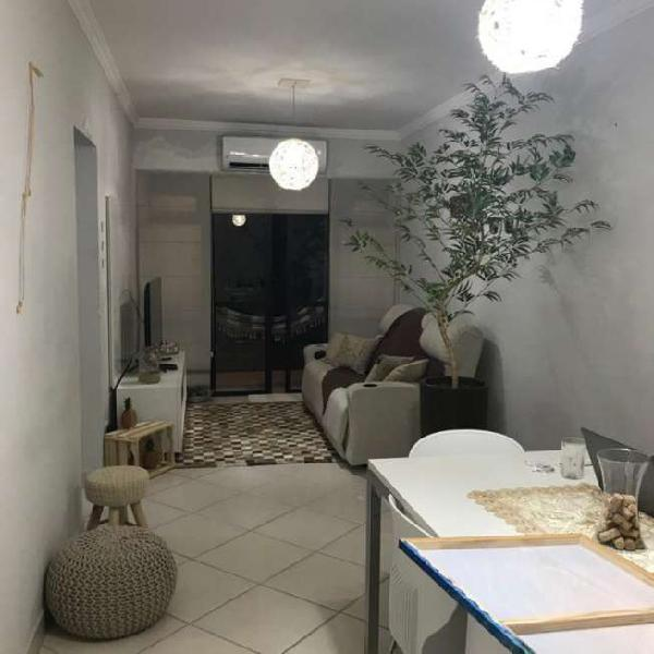 Oportunidade: apartamento 98m² guarujá/sp permuta por