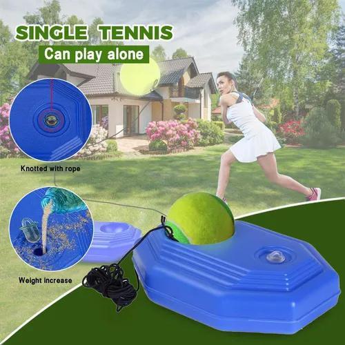 Singles tennis trainer treinamento prática bola back base t