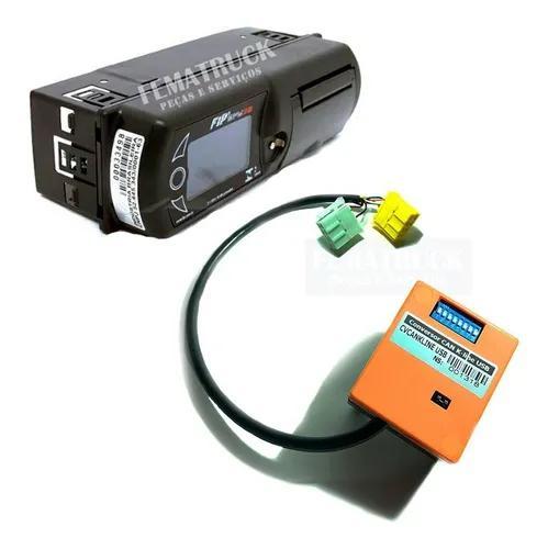 Tacógrafo digital fip com 2 bobinas + conversor k-line