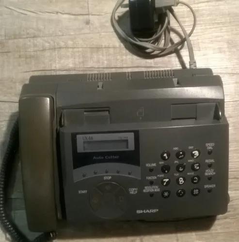 Aparelho de fax sharp