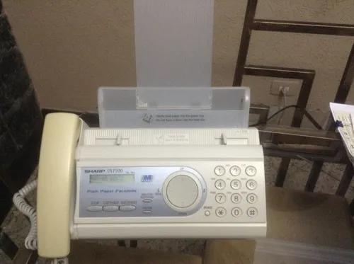 Aparelho tel. fax sharp ux-p200 + copiadora + bob/ filme