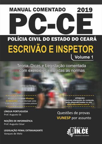 Apostila dince pcce - inspetor e escrivão policia civil