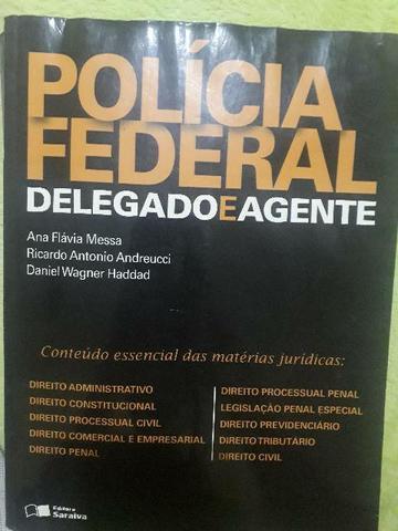Apostila polícia federal/ delegado e agente