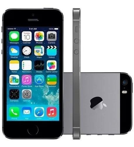Apple iphone 5s 16gb desbloqueado original wifi - grade a