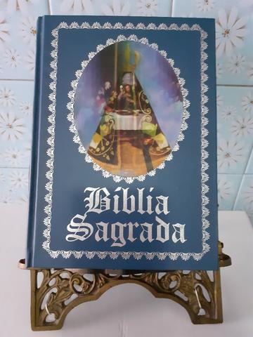 Bíblia sagrada grande edição luxo 2005 usada