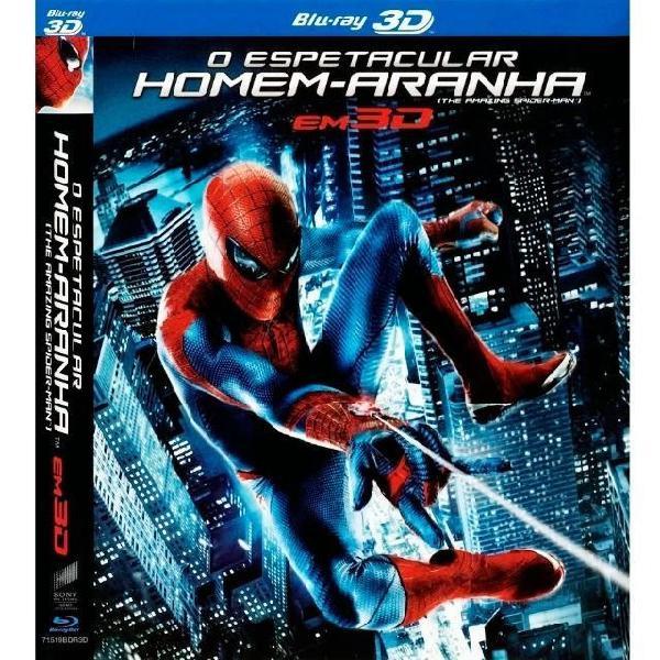 Blu-ray o espetacular homem aranha 2d e 3d