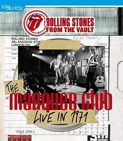 Blu ray the rolling stones - from the vault: the marquee -