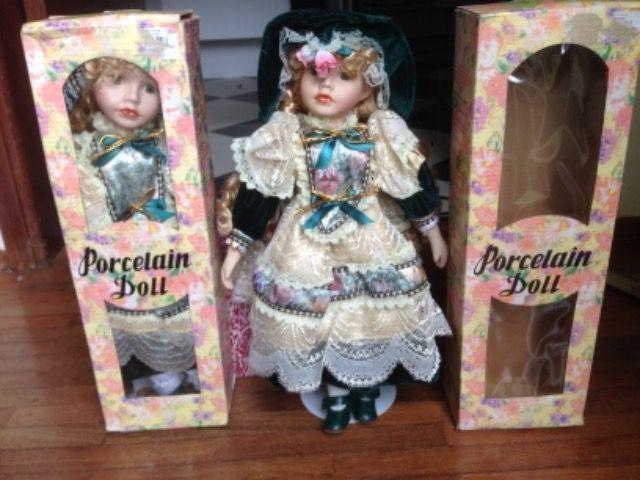 Boneca de porcelana chinesa nova