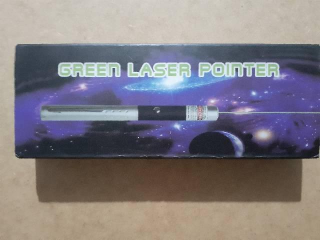 Caneta laser pointer verde lanterna ponteiras até 7km