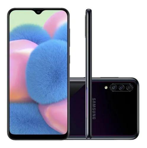 Celular samsung galaxy a30s dual 6.4 64gb tv digital preto