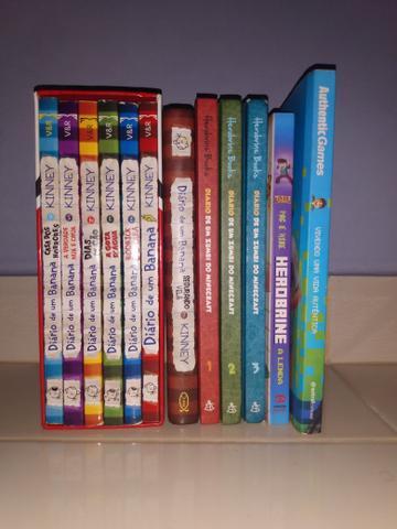 Conjunto 11 livros