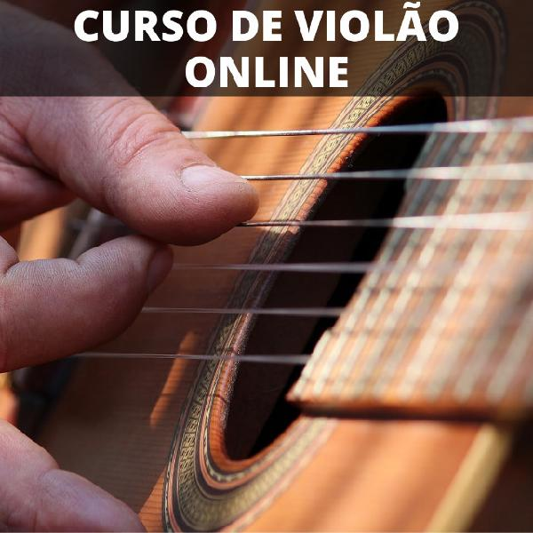 Curso de violão online - curso voltado para inicinates em