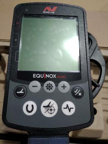 Detector de metais minelab equinox 600